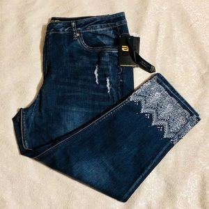 Golden Girls cropped jeans